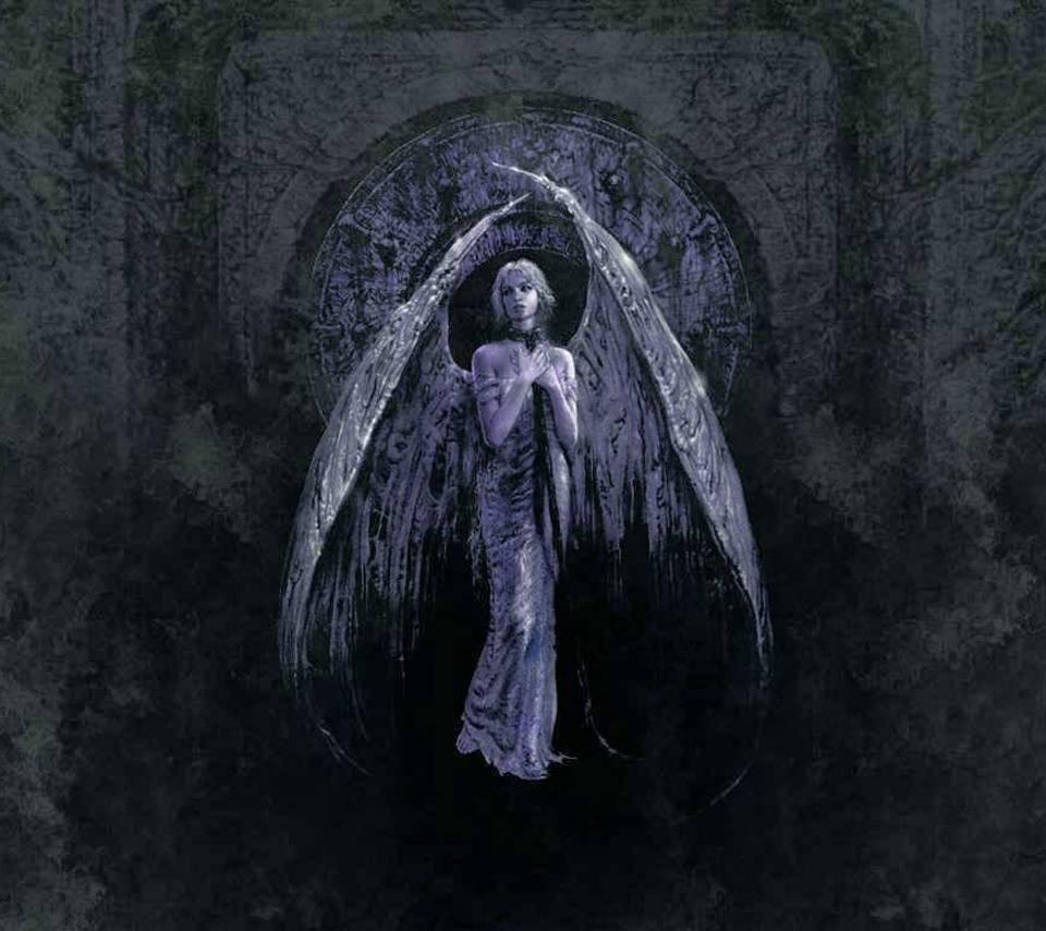 darkness angel wallpaper