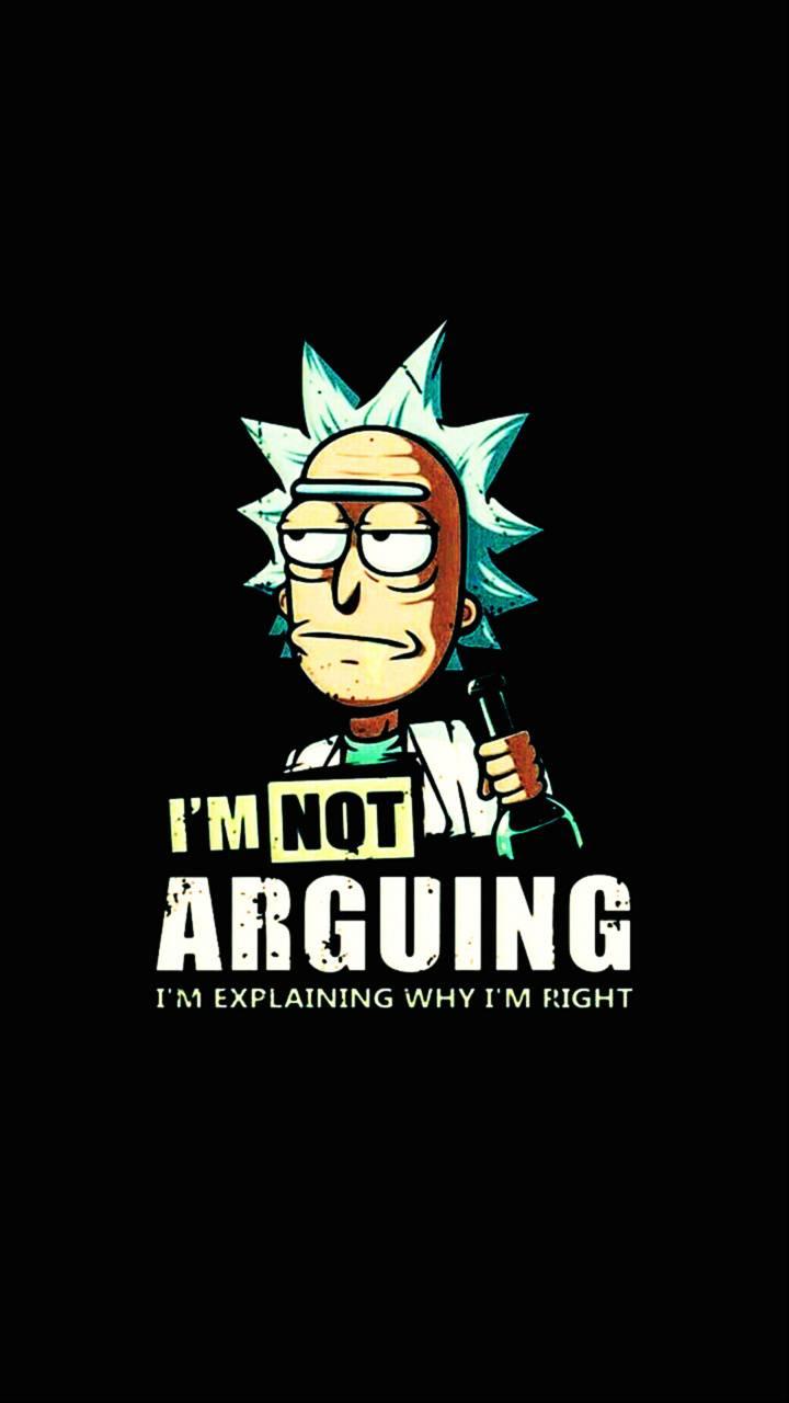 Im not arguing Rick