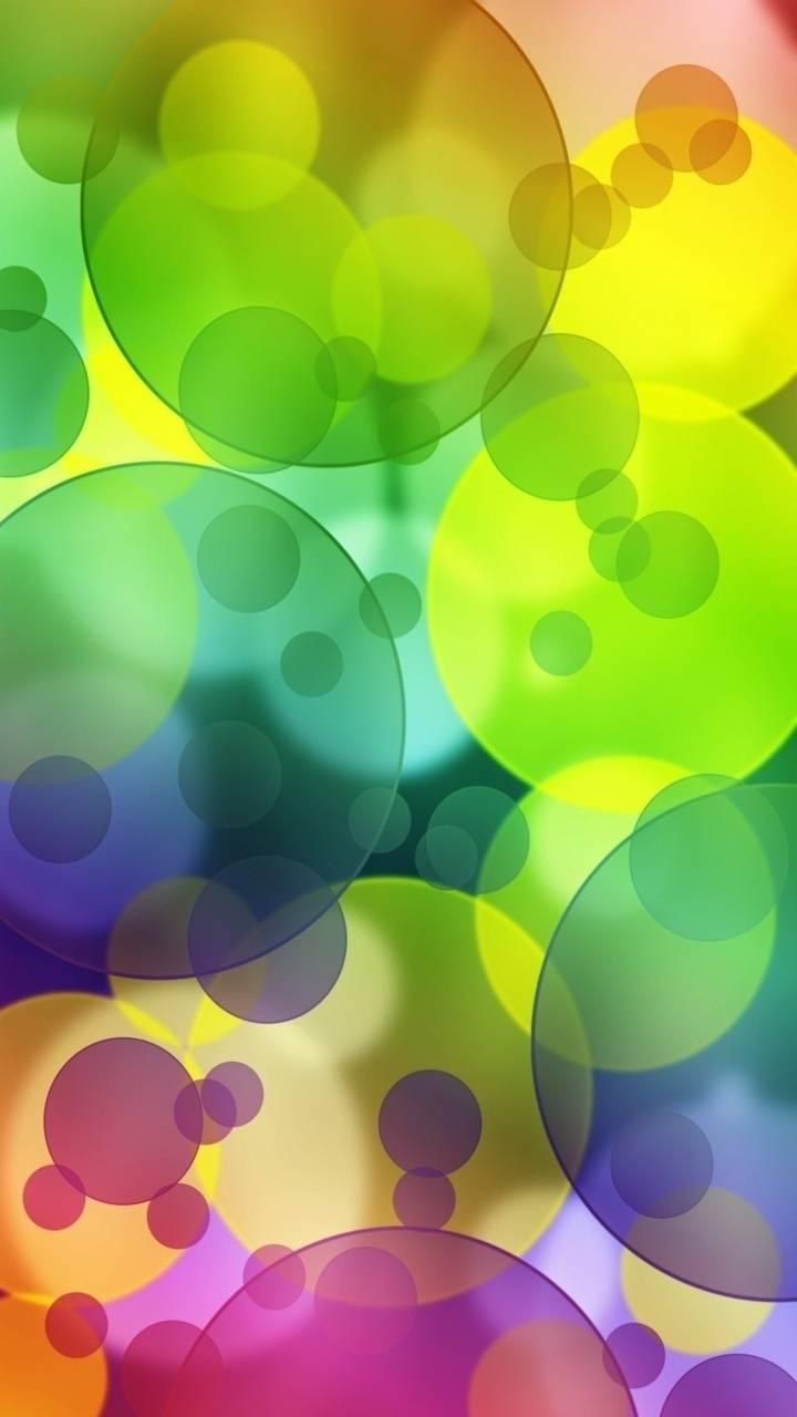 Bubbles Colorful