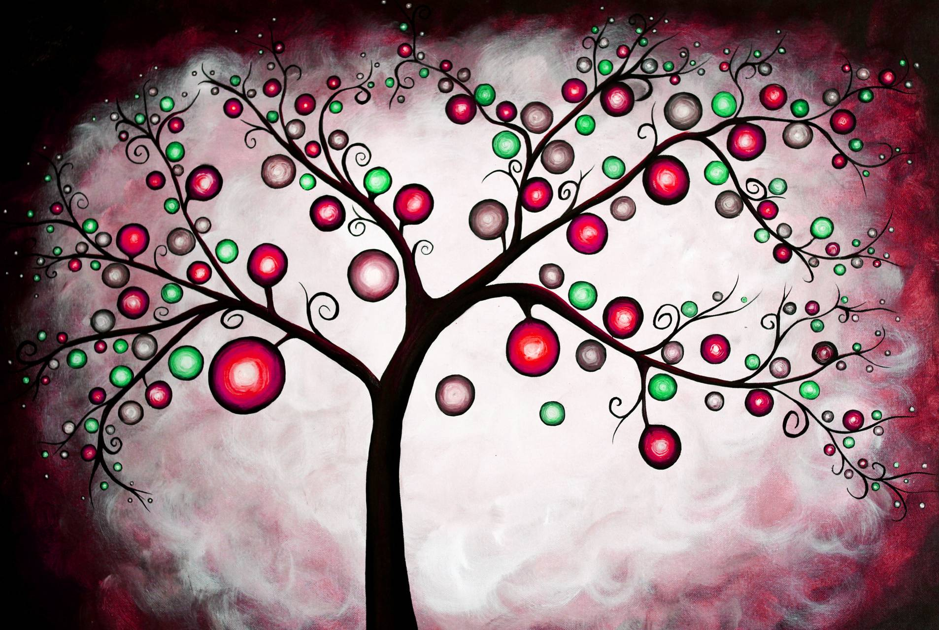 Tree Red and Green