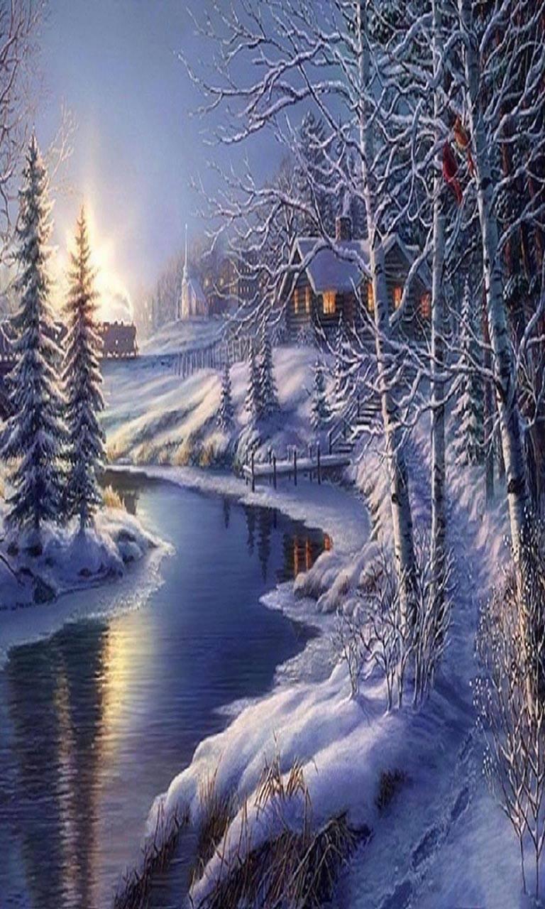 Calm in winter