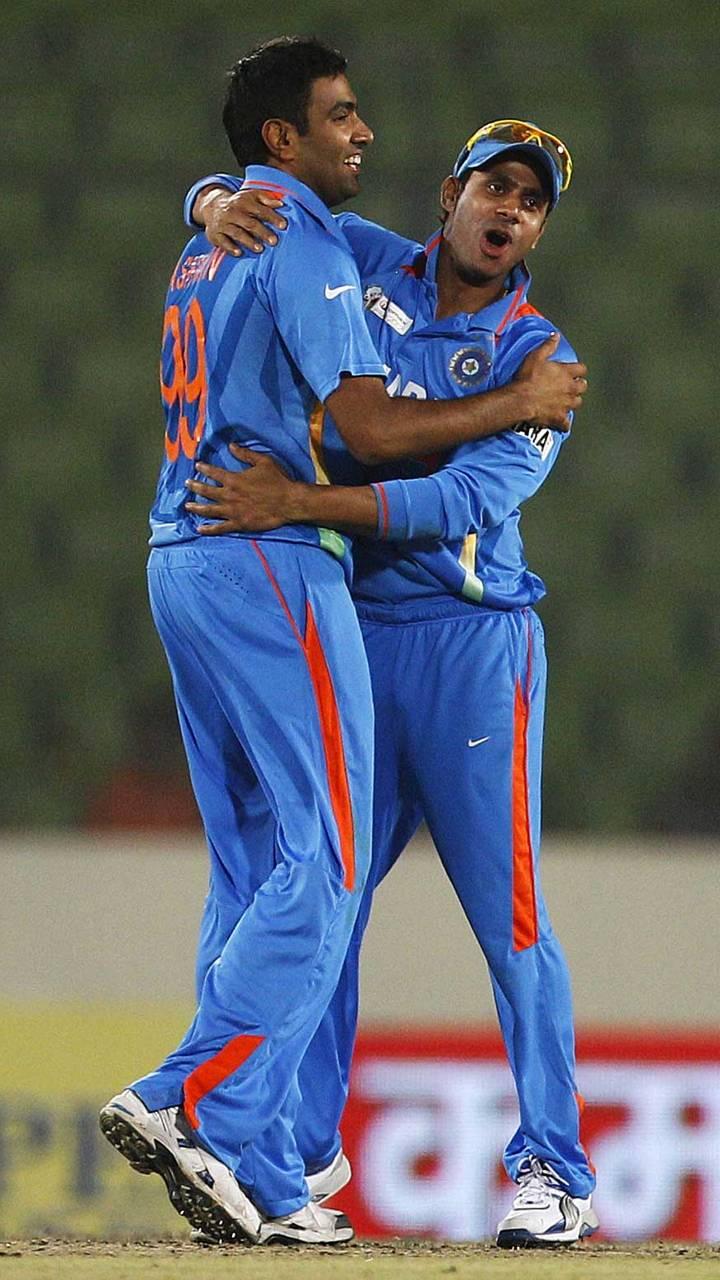 Ashwin And Manoj Tiw