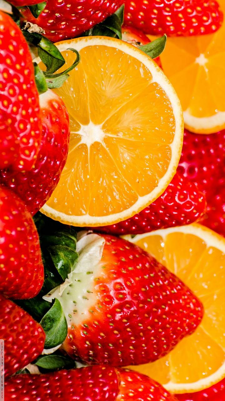 stawberry and orange