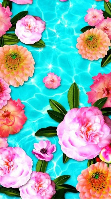 Pool Of Flowers