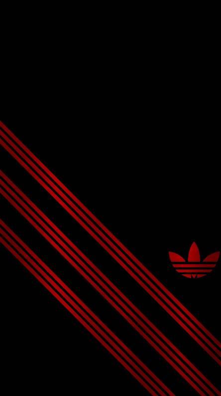 Black Red Adidas