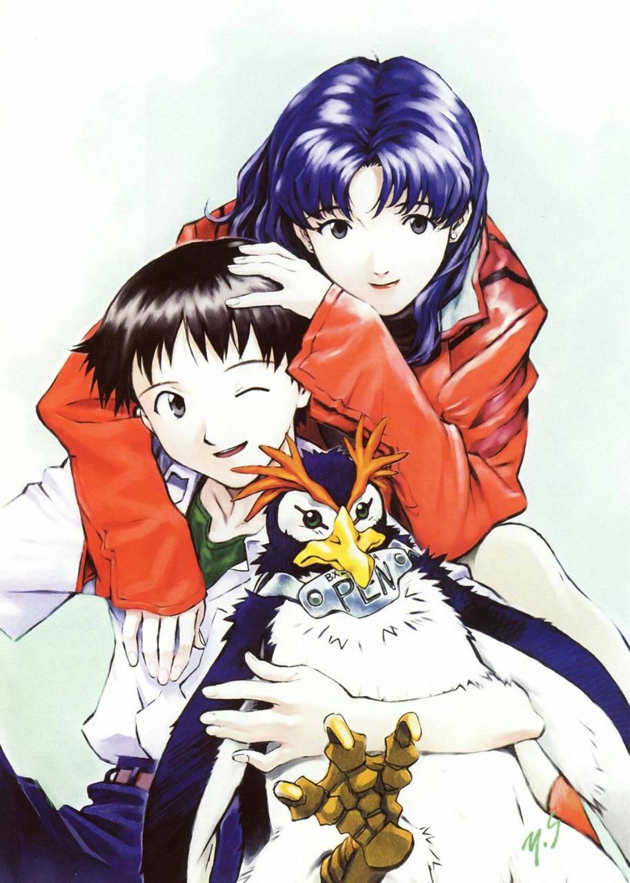 Shinjin and misato