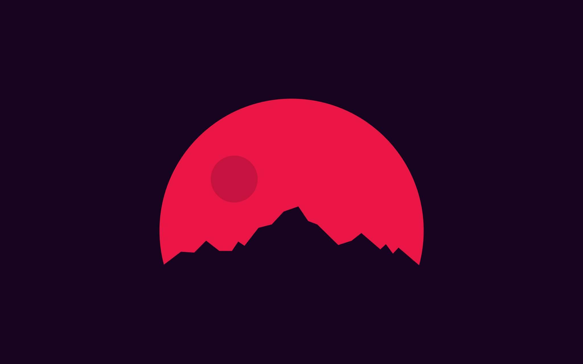 Mountain on mars