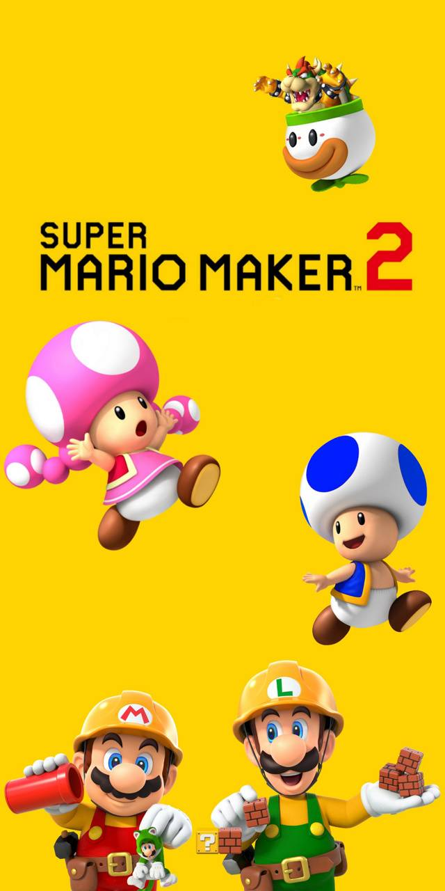 Super Mario Maker 2 Wallpaper By Get Thwacked D4 Free On Zedge