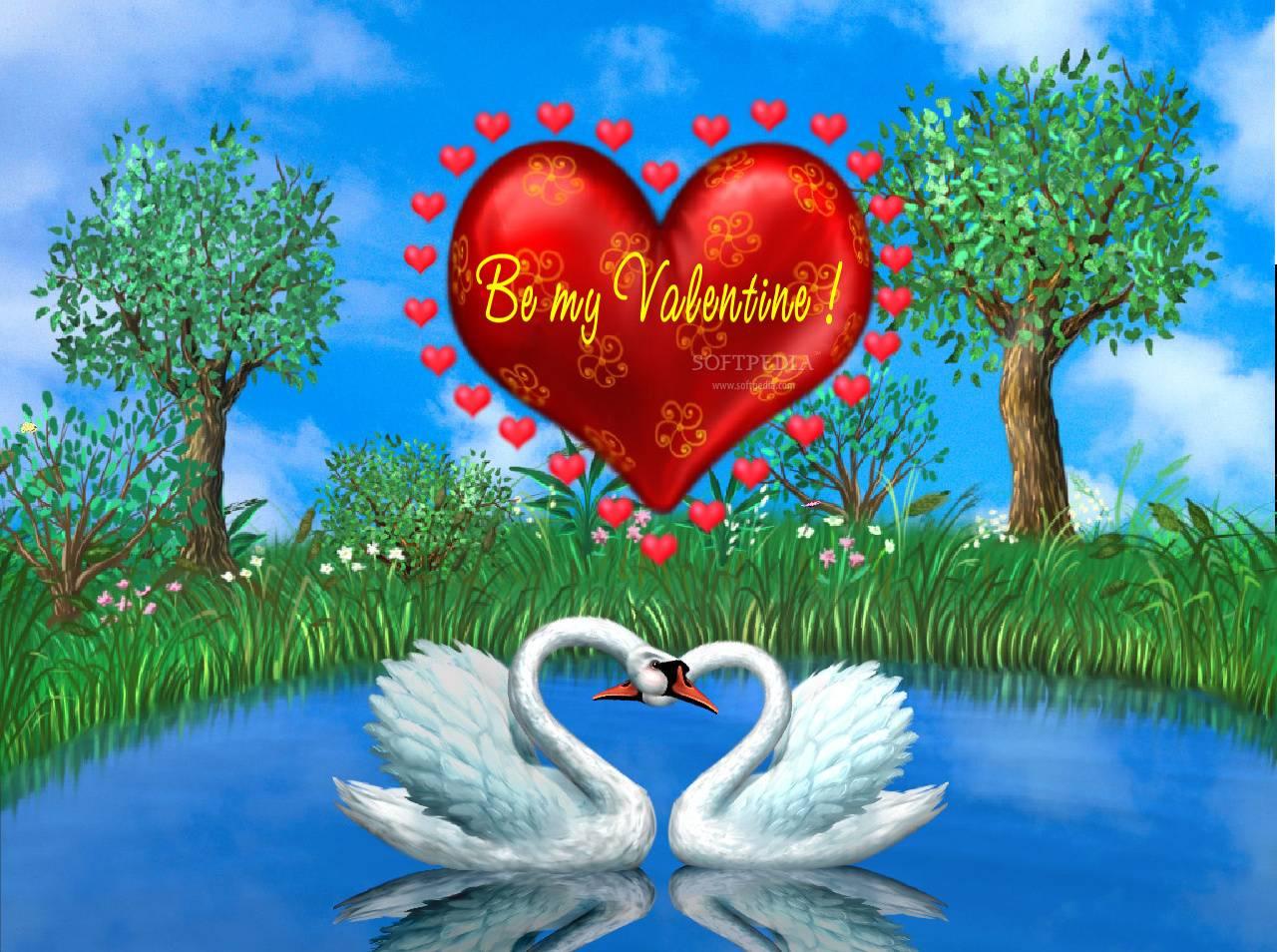 Картинки именем, картинки с лебедями с днем влюбленных