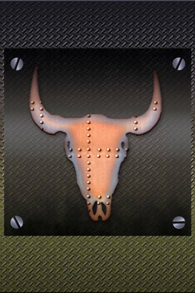 Metal Longhorne