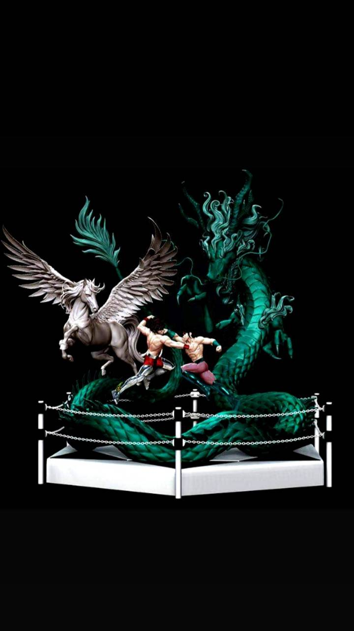 Pegasus vs Dragon