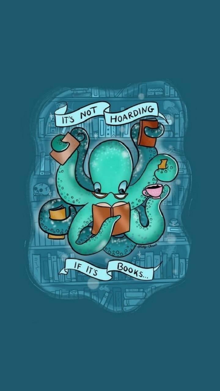 Hoarding octopus