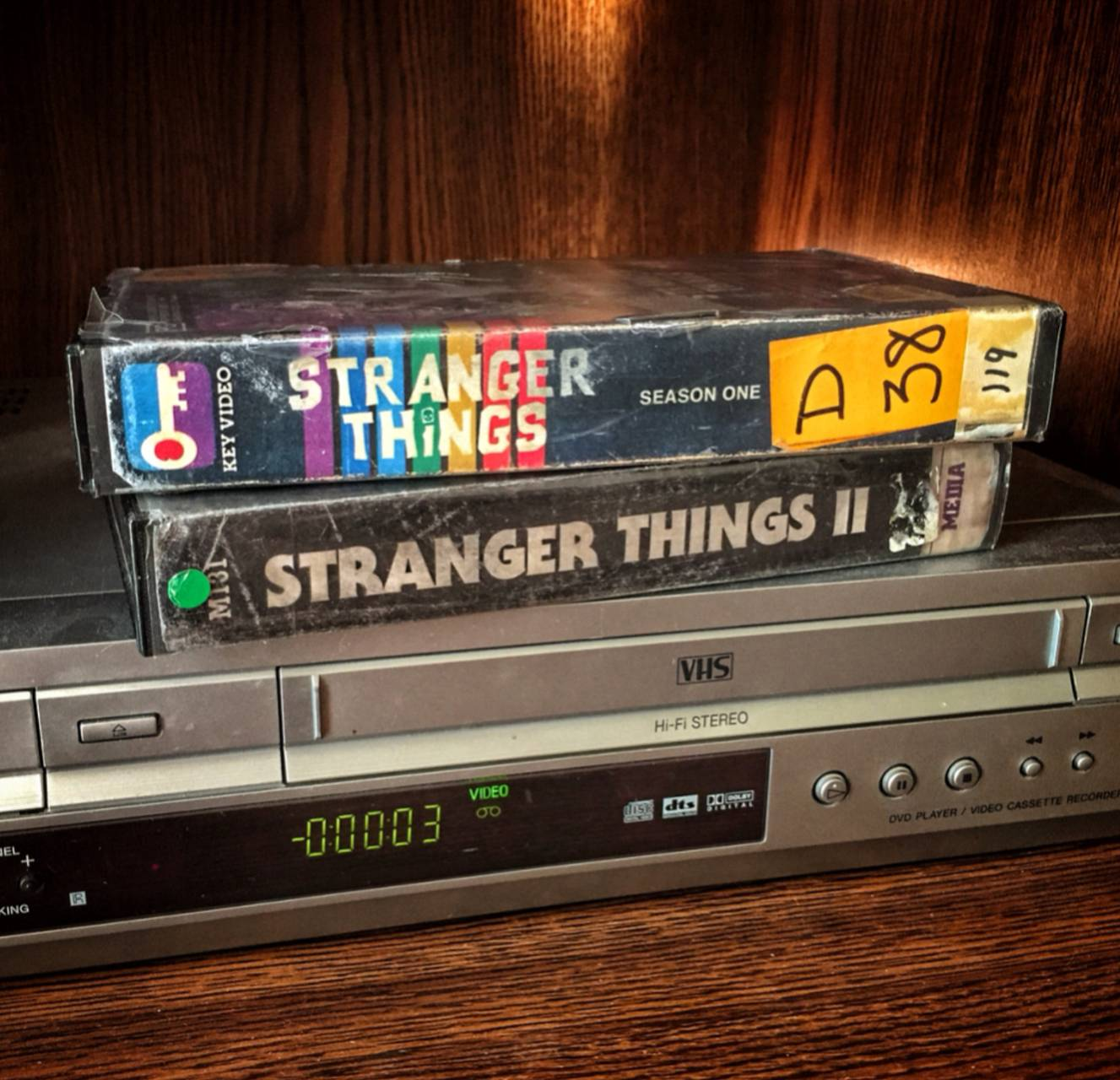 Stranger things VHS