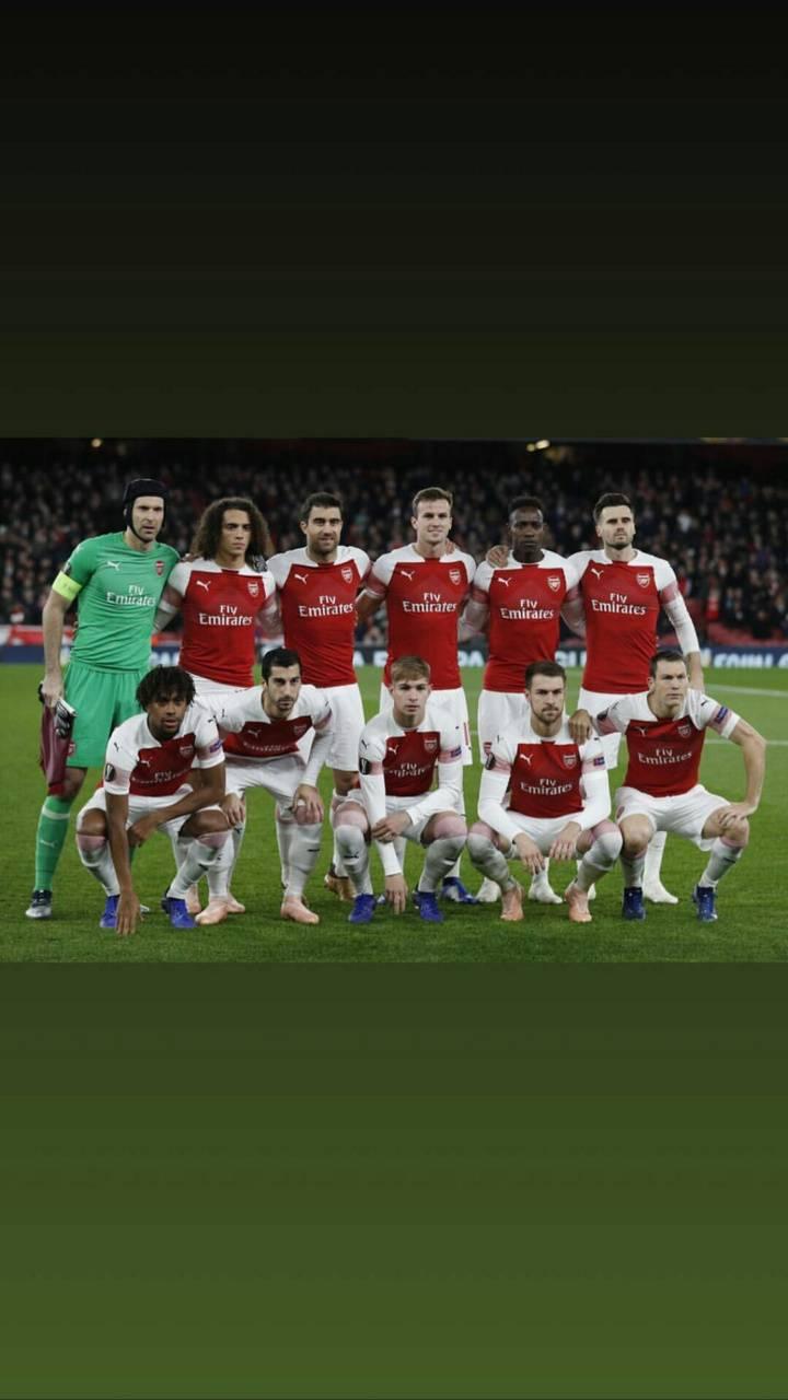 Arsenal squad