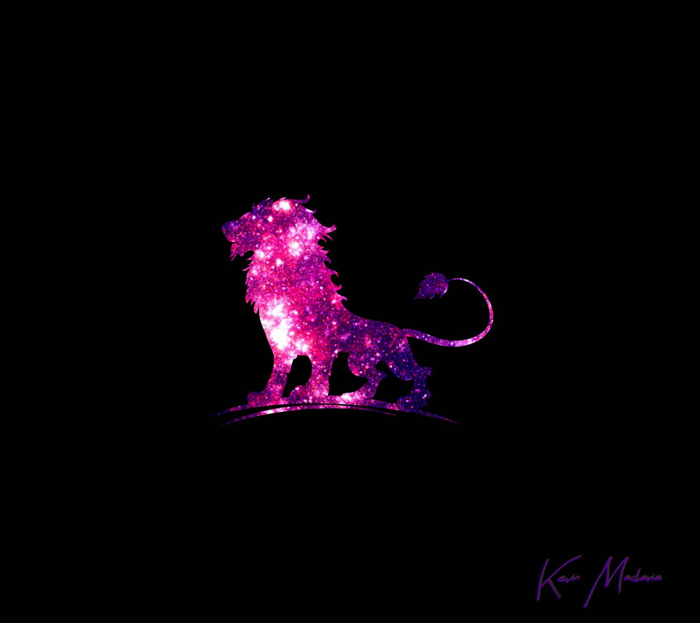Purple Kenyan Lion