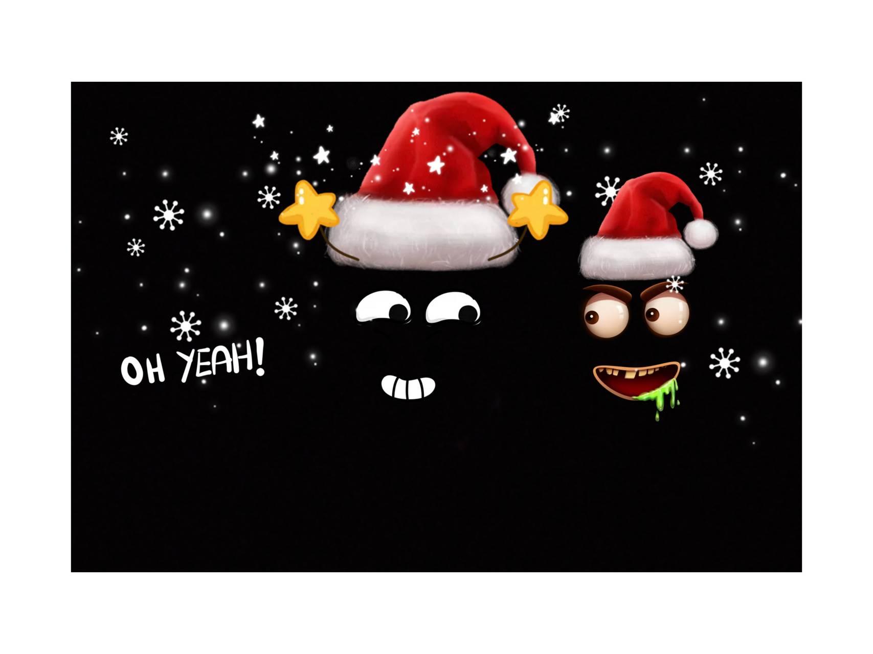WhatsApp dp santa
