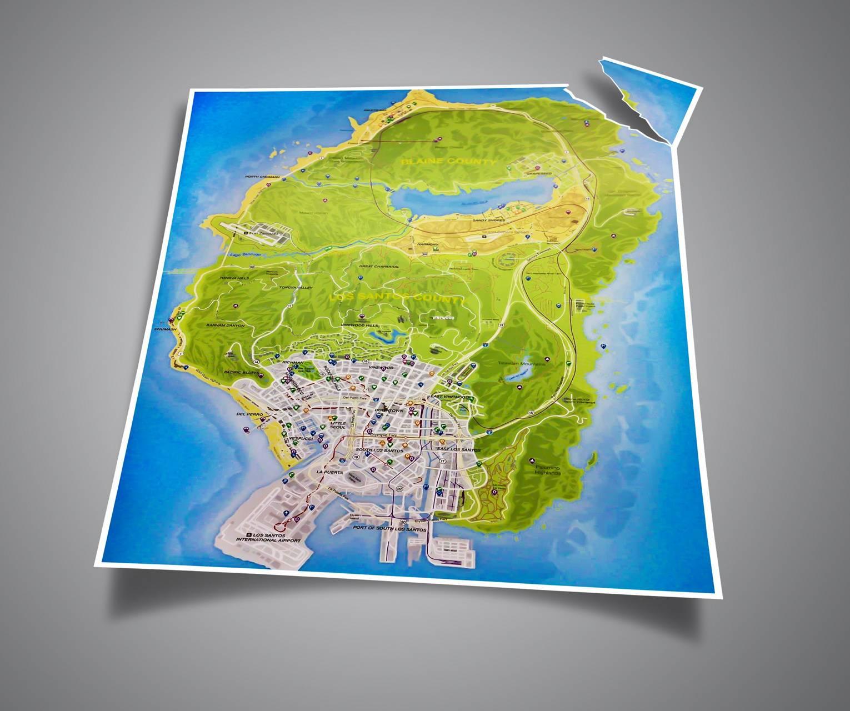 GTA V Official Map