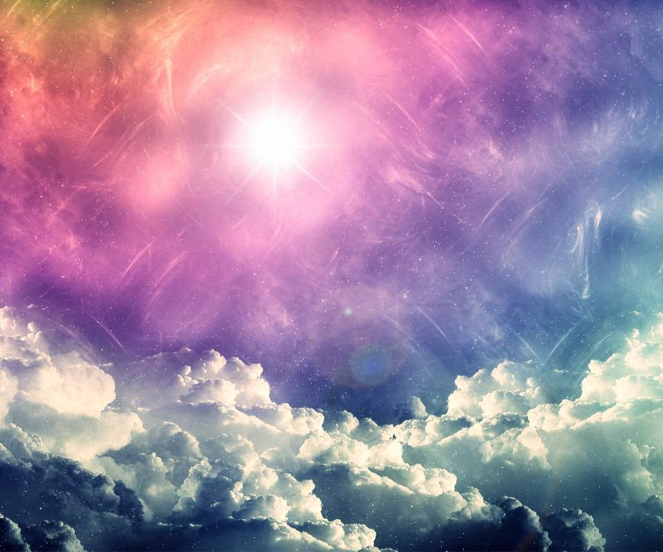 Colorful Clouds Hd