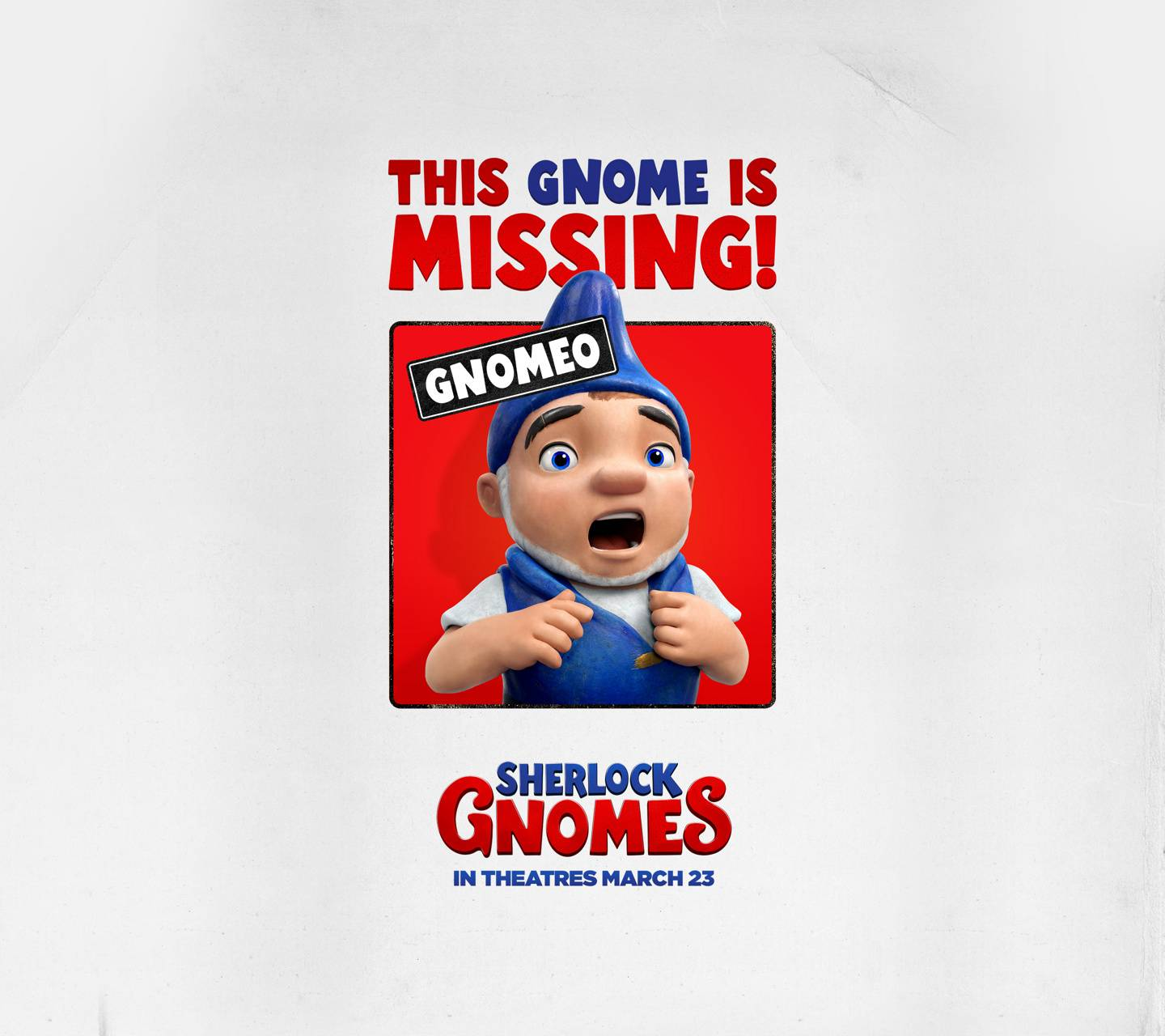 Gnomeo is missing