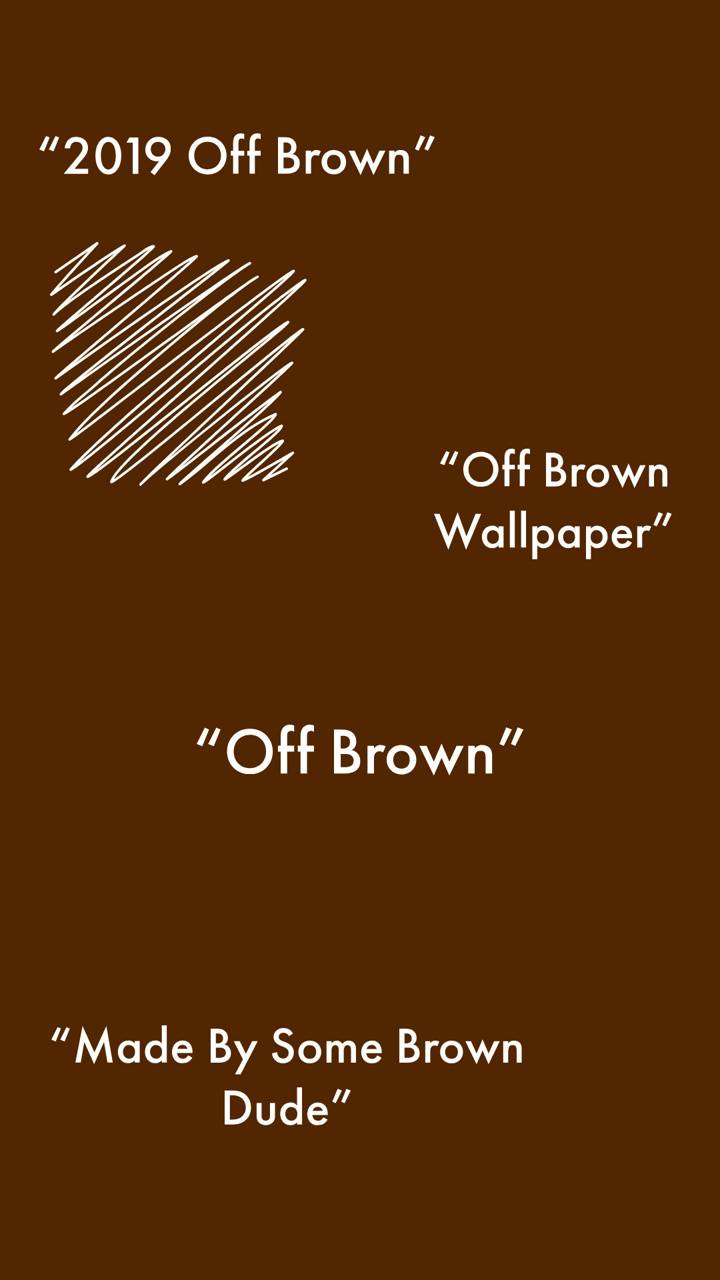 Off-White Off-Brown