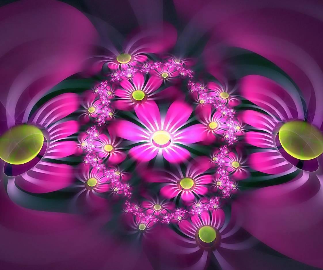 Purple Flower Hd
