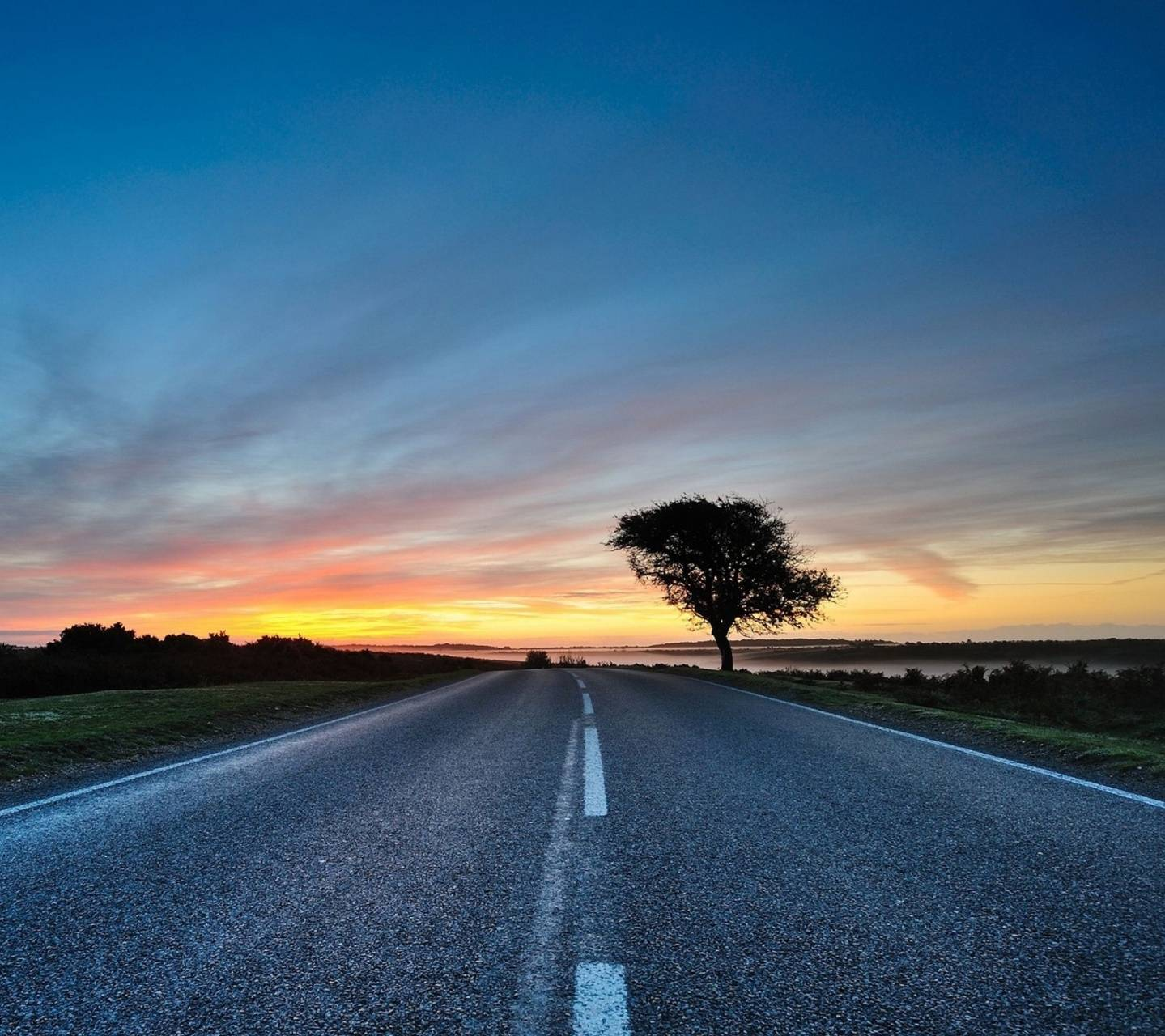 Roads -sunsets