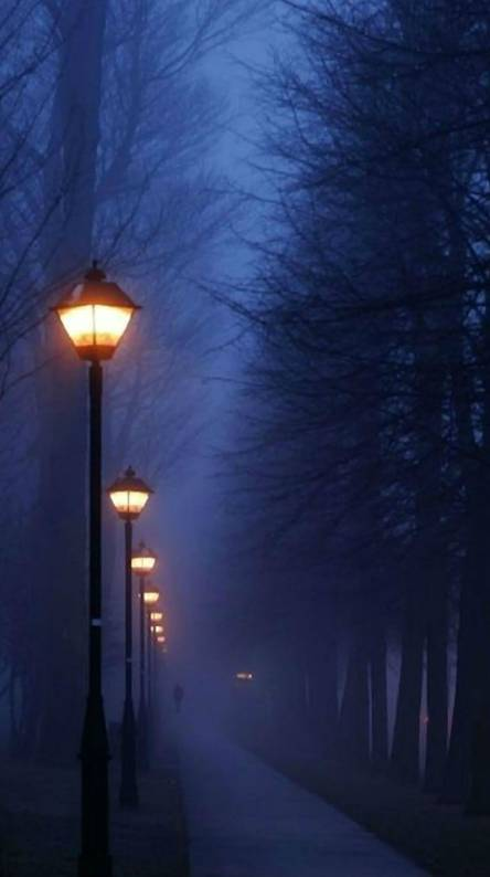 Paris - Foggy Night
