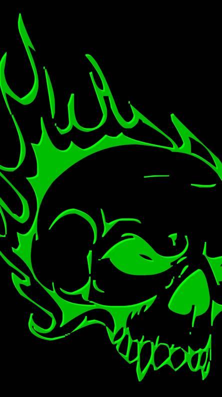 green skull5