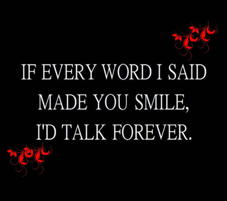 If Every Word I Said
