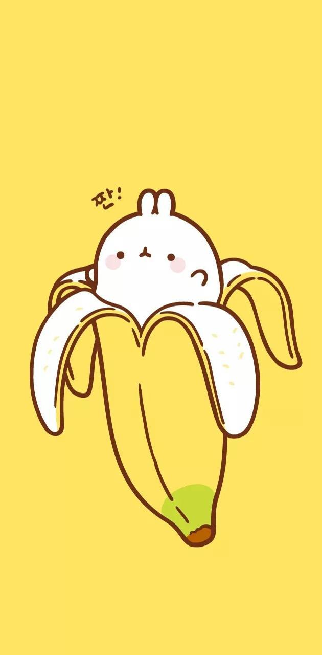 Buni in the banana