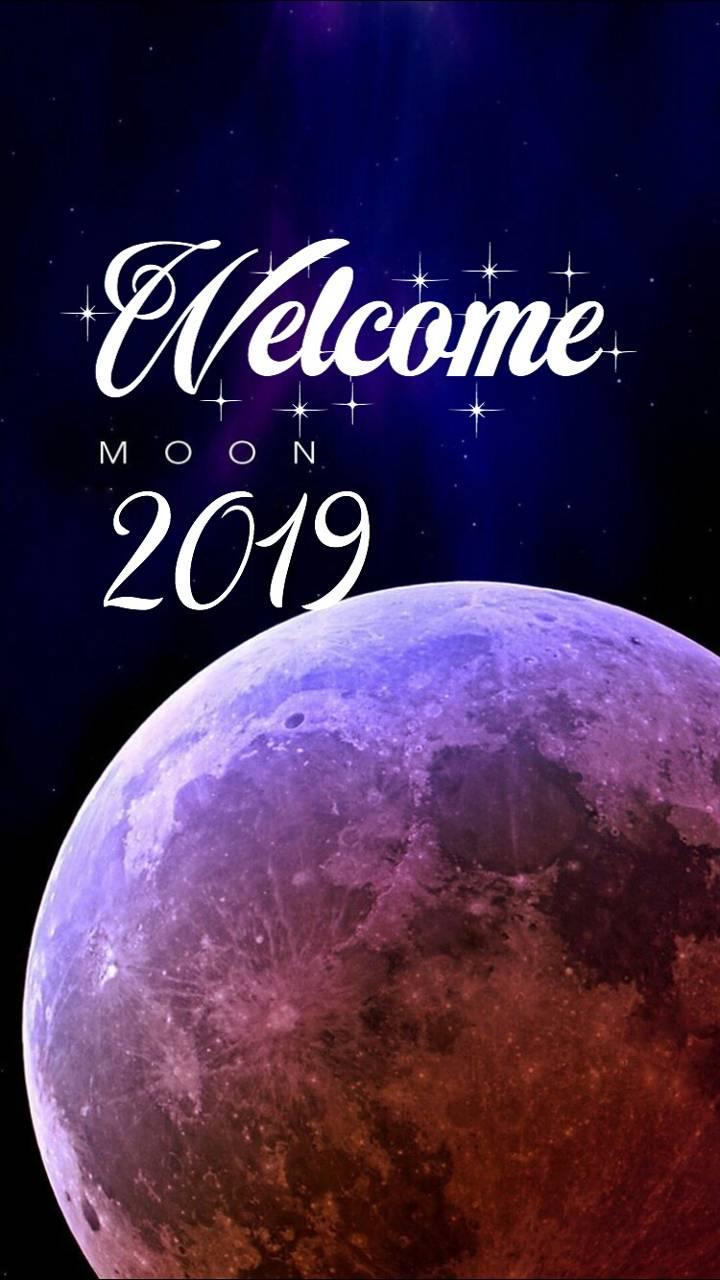 4k Moon 2019