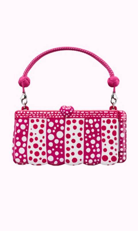 Pink Polka Dot Purse