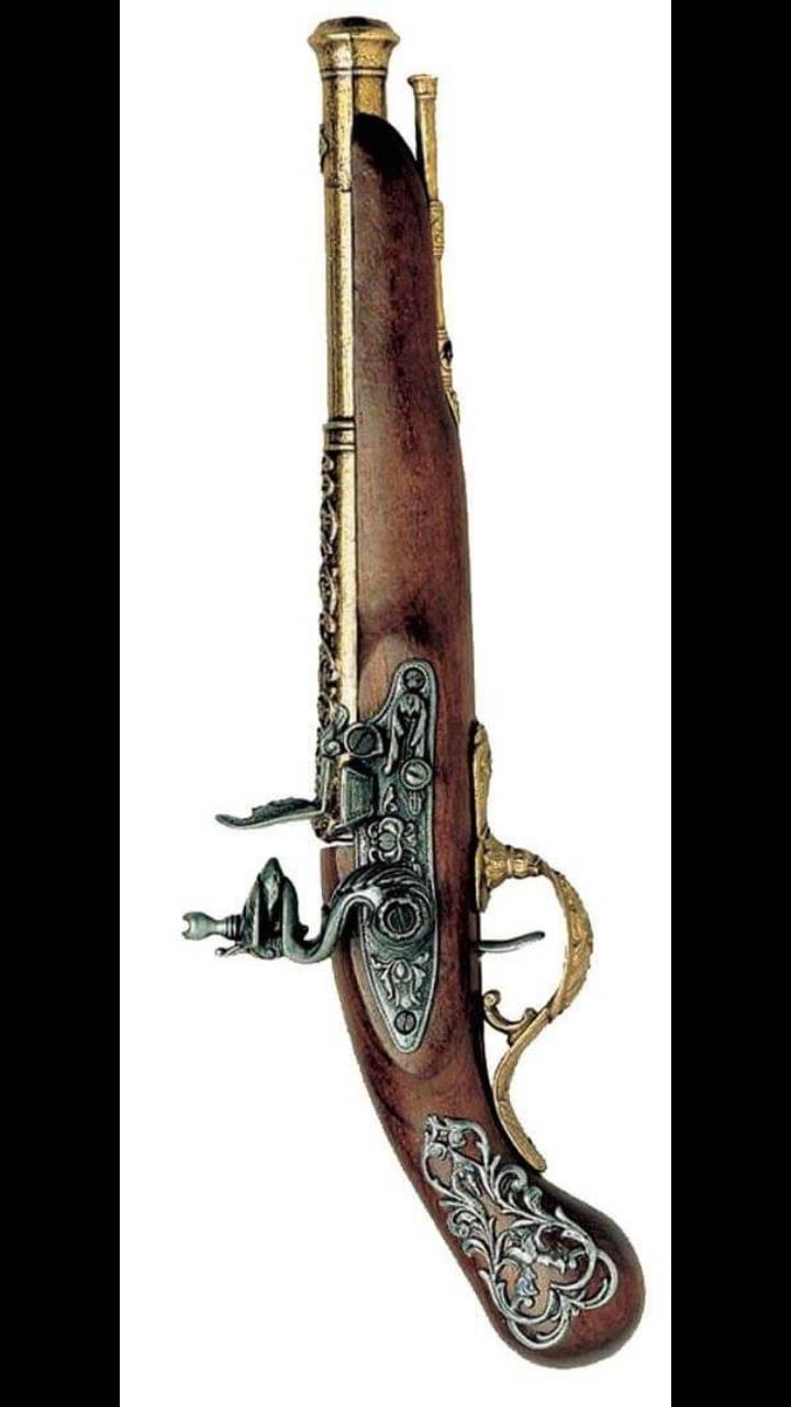 Antique piece of gun