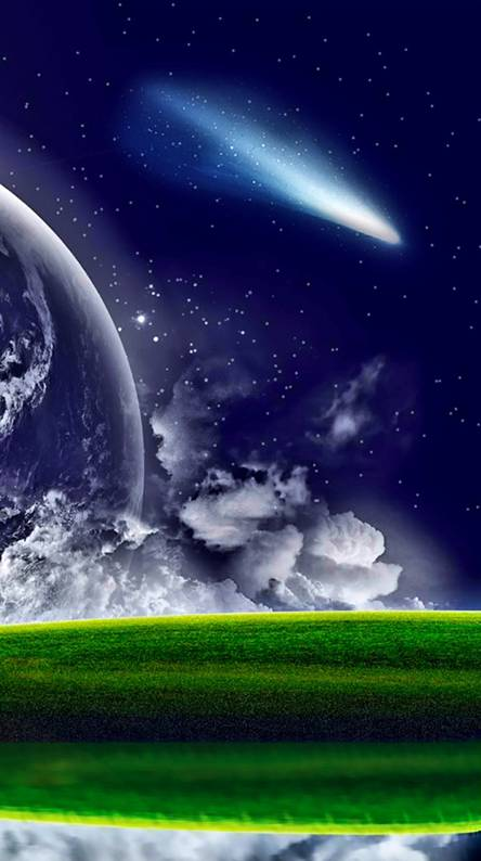 Vibrant Comet
