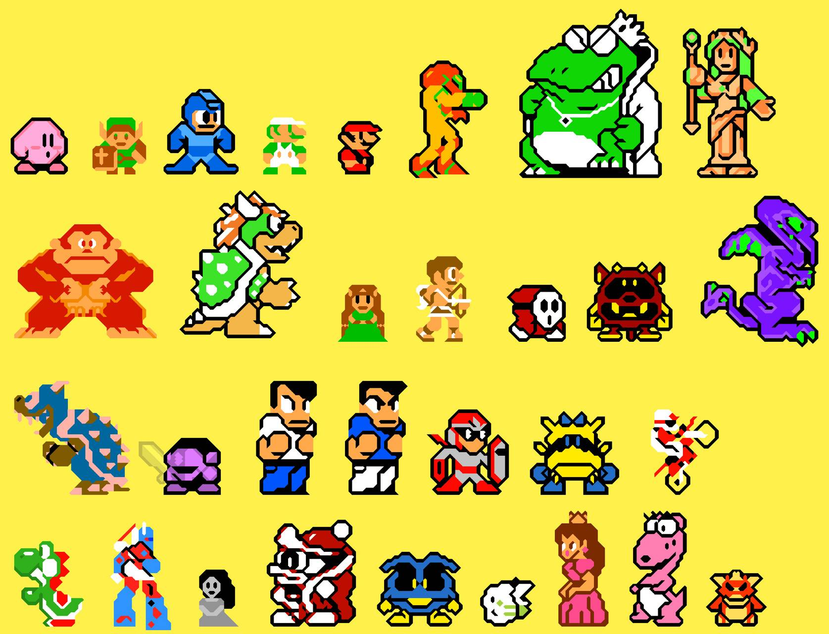 Smoothed Sprites