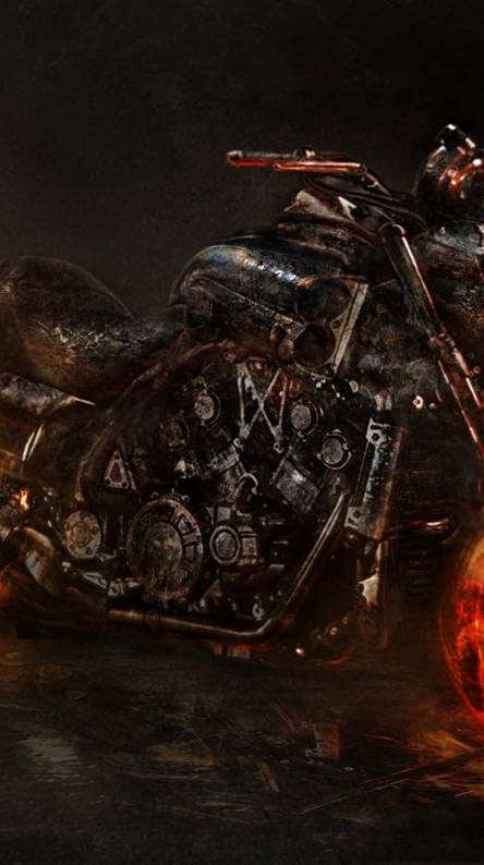 Ghost Rider Bike Wallpapers Free By Zedge