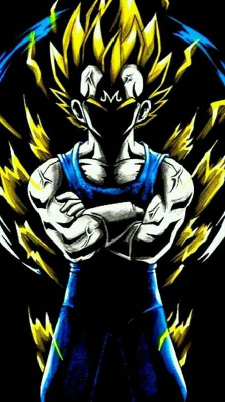 Majin Vegeta Wallpapers Free By Zedge