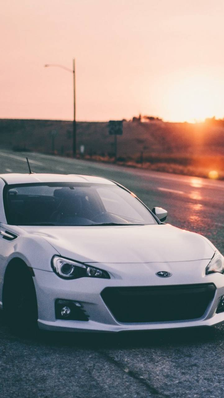 Subaru Brz n Sunset