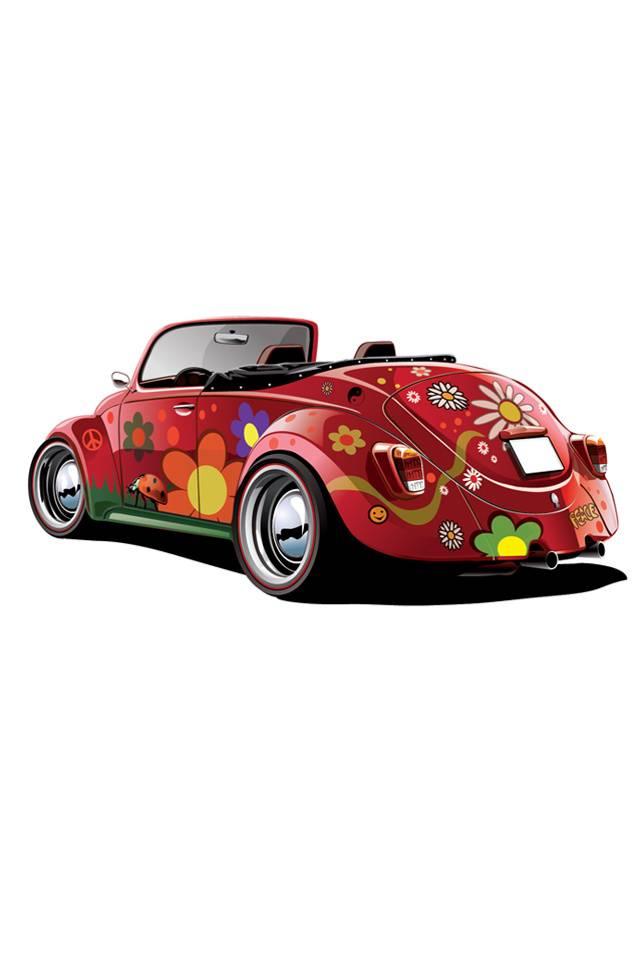 Colourful Car