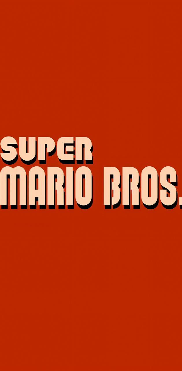 Mario bros 1 logo
