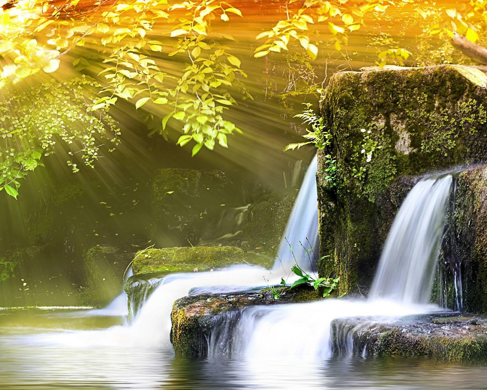 Waterfalls Sunshine