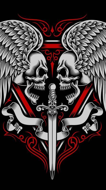 Tattoo Wallpaper. Skull Tattoo