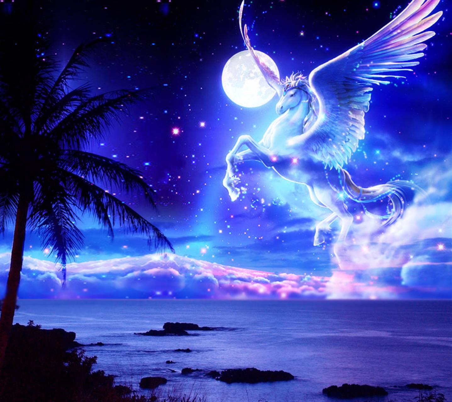 Fantasy Pegasus Wallpaper By ILovedUB4