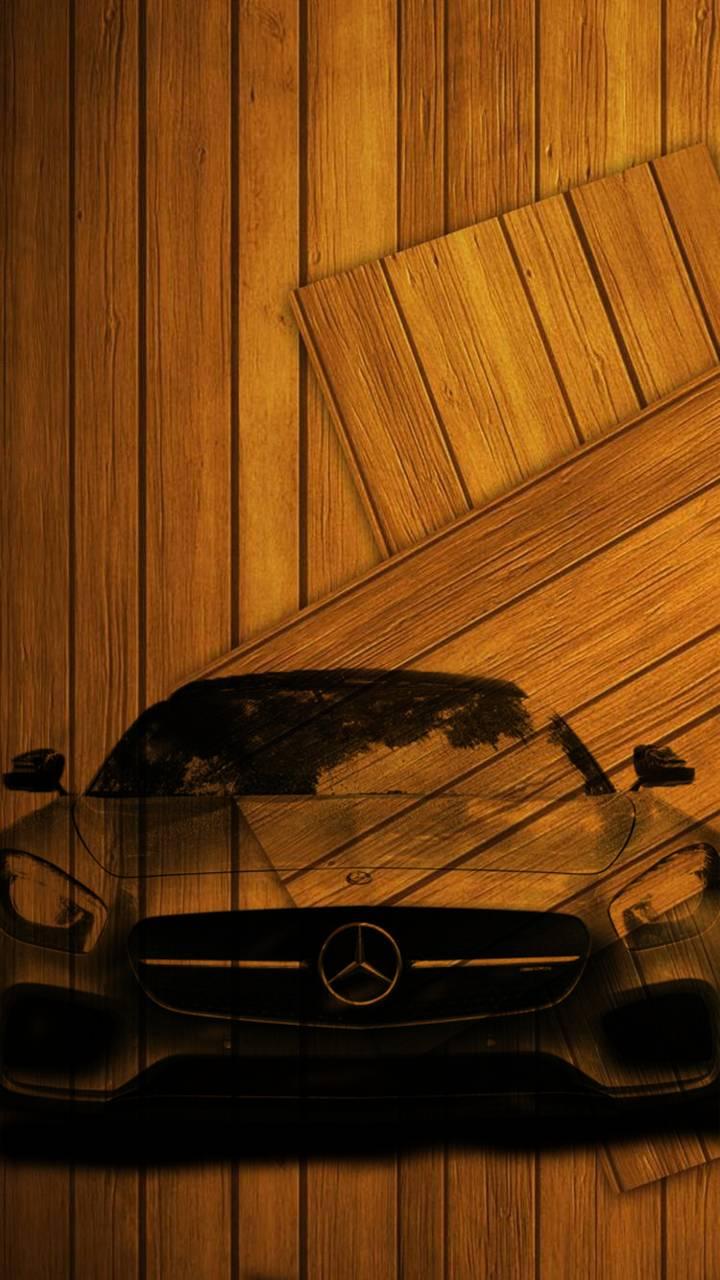 Wooden Mercedes