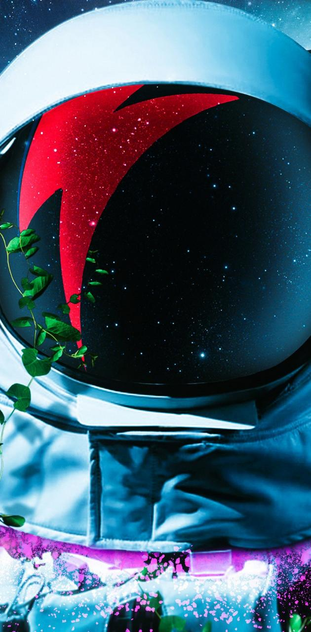 astronaut in VR