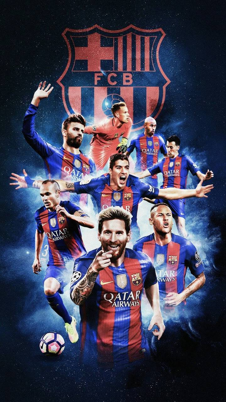 15+ Fc Barcelona Players Wallpaper