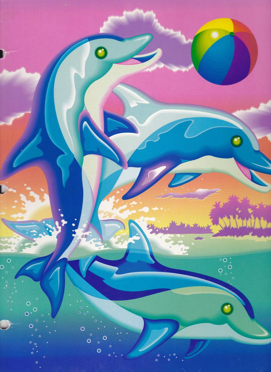Lisa Frank Dolphin Wallpaper By Narwhalled 9b Free On Zedge