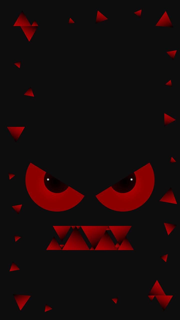 Red eyed monster