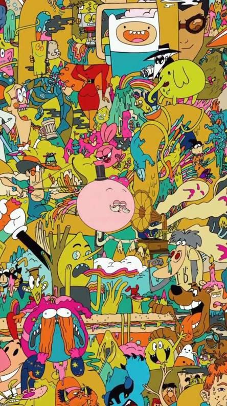 Cartoon wallpapers free by zedge - Cartoon character wallpaper ...