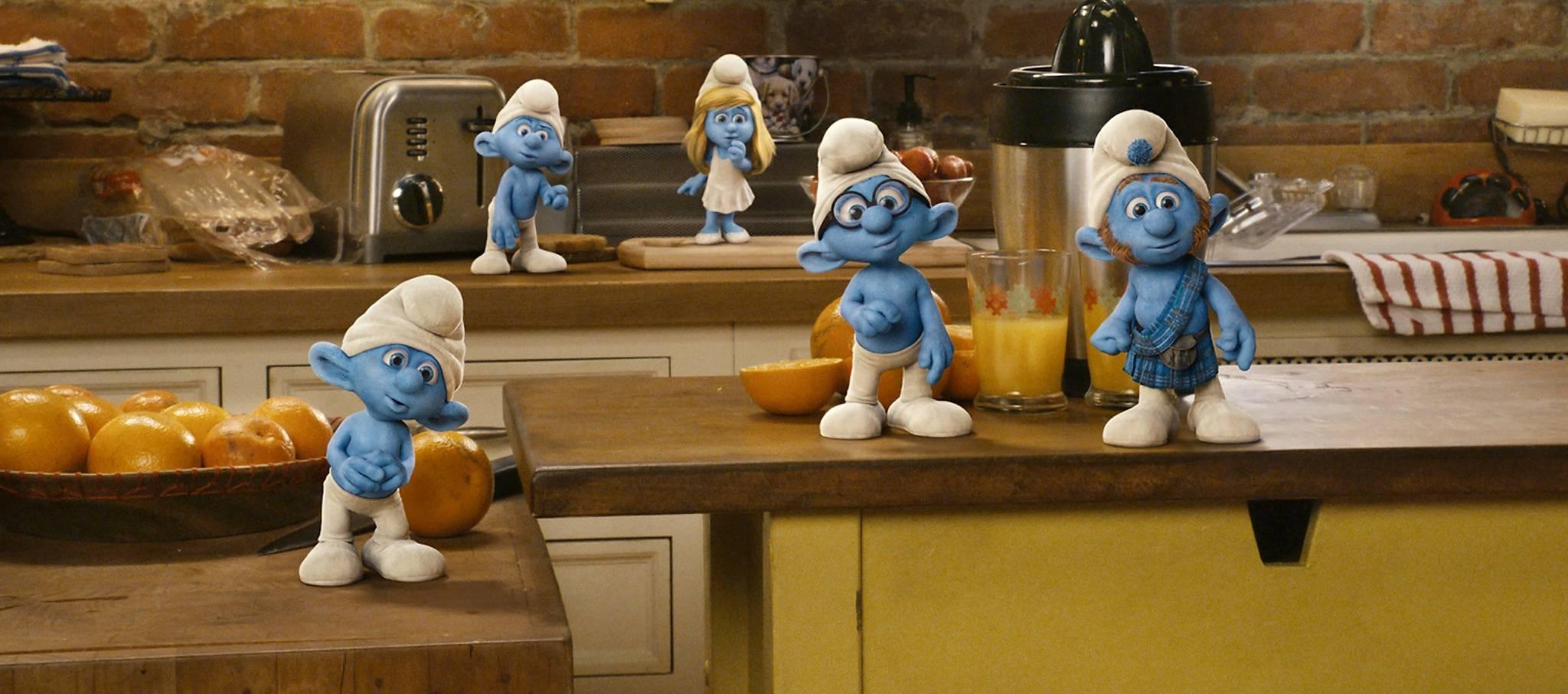 Kitchen Smurf